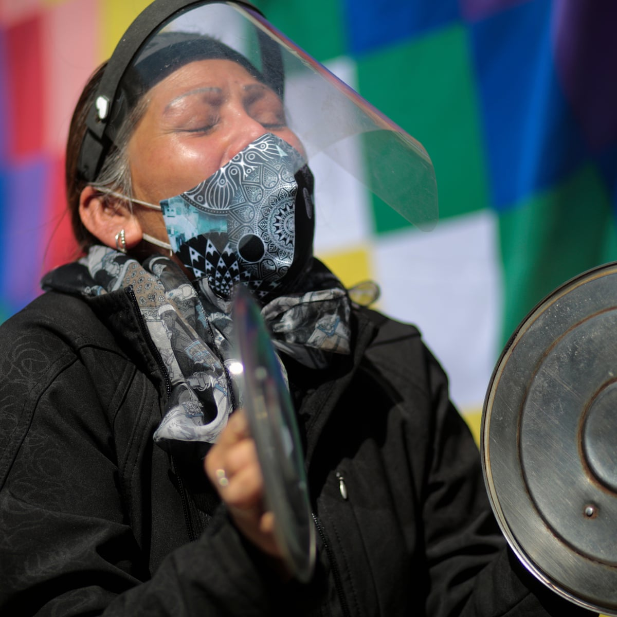 Bolivia Protesters Bring Country To Standstill Over Election Delays Bolivia The Guardian