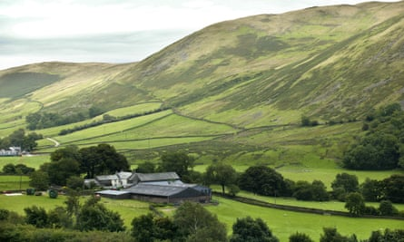 The northern edge of The Howgills, near Tebay.