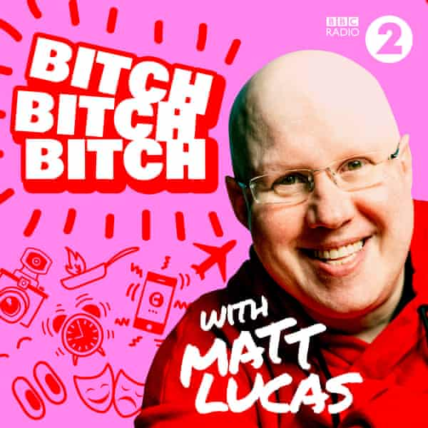 Matt Lucas, Bake Off co-host and now podcaster.