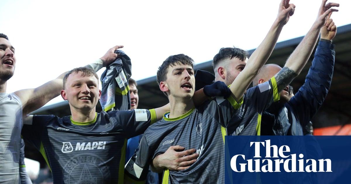 'Es horrible': Halesowen se detuvo con la promoción y Wembley a la vista | Fútbol americano 59
