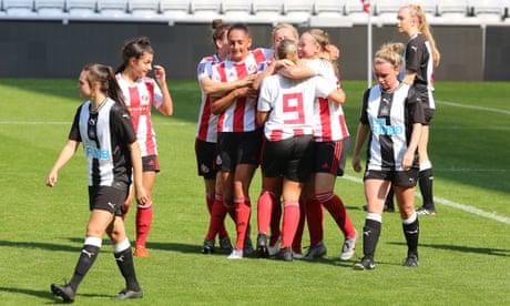 Sunderland Ladies given new hope in bid to return from football's margins