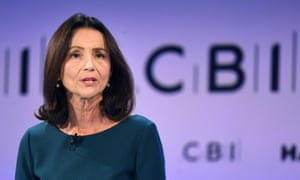 Carolyn Fairbairn, head of the CBI: