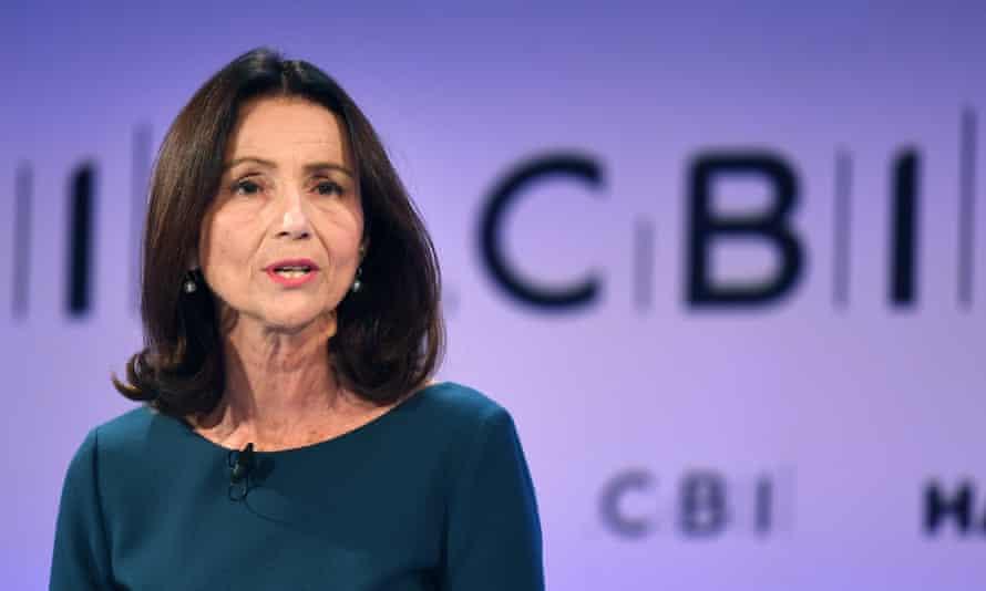 Carolyn Fairbairn the director general of the CBI.