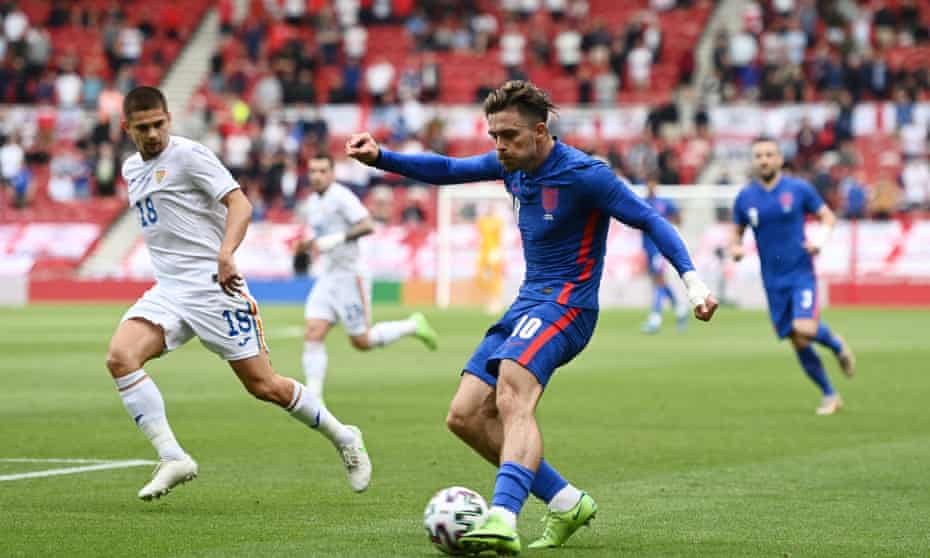 Jack Grealish produced a bold performance in England's win over Romania