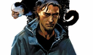 Detail from the cover of Y The Last Man