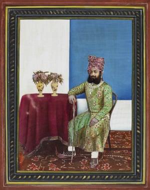 Maharaja Venkat Raman Singh of Rewa (1876-1918), 1899s – Copy