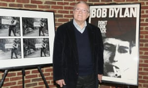 DA Pennebaker at a New York screening of Dont Look Back in 2016.