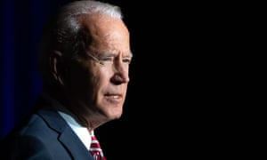 US-POLITICS-BIDEN<br>Former US Vice President Joe Biden speaks during the First State Democratic Dinner in Dover, Delaware, on March 16, 2019. (Photo by SAUL LOEB / AFP) / ALTERNATIVE CROPSAUL LOEB/AFP/Getty Images