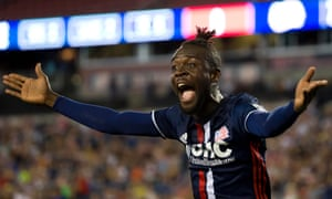 Kei Kamara has not yet had the impact many had hoped at New England Revolution