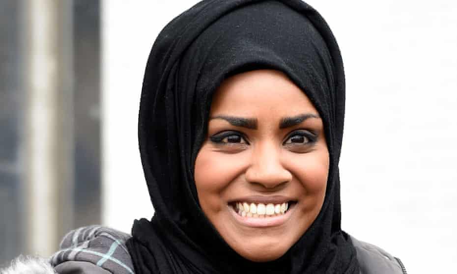 Nadiya Hussain won The Great British Bake Off in 2015.