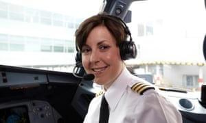 Katie Withers, airline captain for Monarch