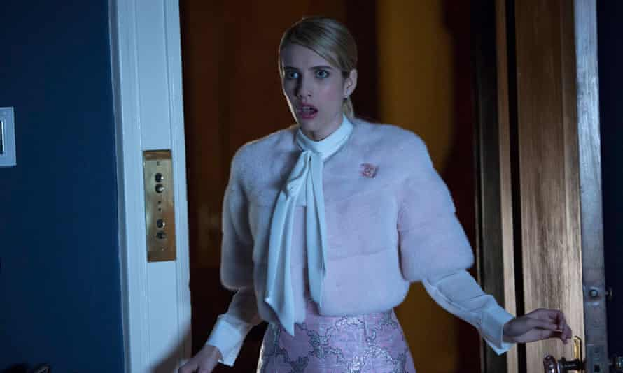 'A moreish confection' ... Emma Roberts as Chanel Oberlin in Ryan Murphy's Scream Queens.
