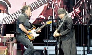 Bruce Springsteen and Steven Van Zandt.