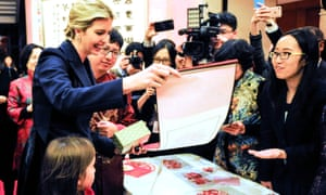 ivanka trump at the chinese embassy in washington dc to celebrate the lunar new year