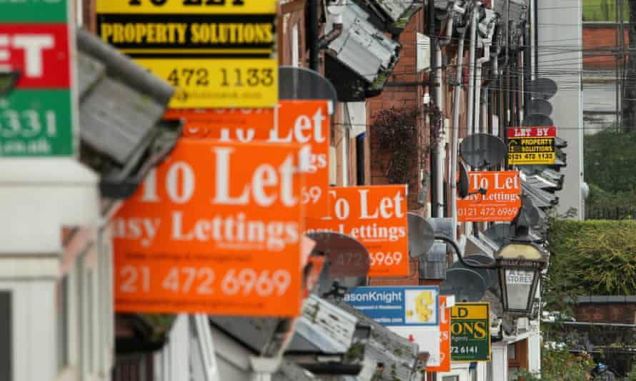 Soaring house prices and problems with having mortgages accepted have pushed young households into the private rented sector.