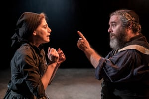 Judy Kuhn and Andy Nyman in Fiddler on the Roof at the Menier Chocolate Factory.