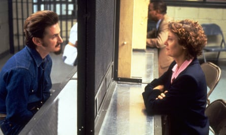 Sean Penn and Susan Sarandon in Dead Man Walking.