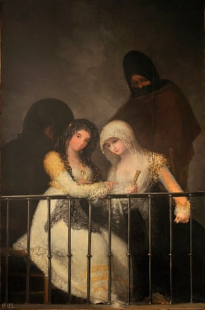 Majas on a Balcony by Asensio Julià, Goya's assistant.