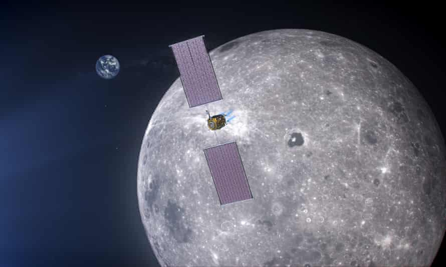 an artist's impression of the Lunar Gateway project