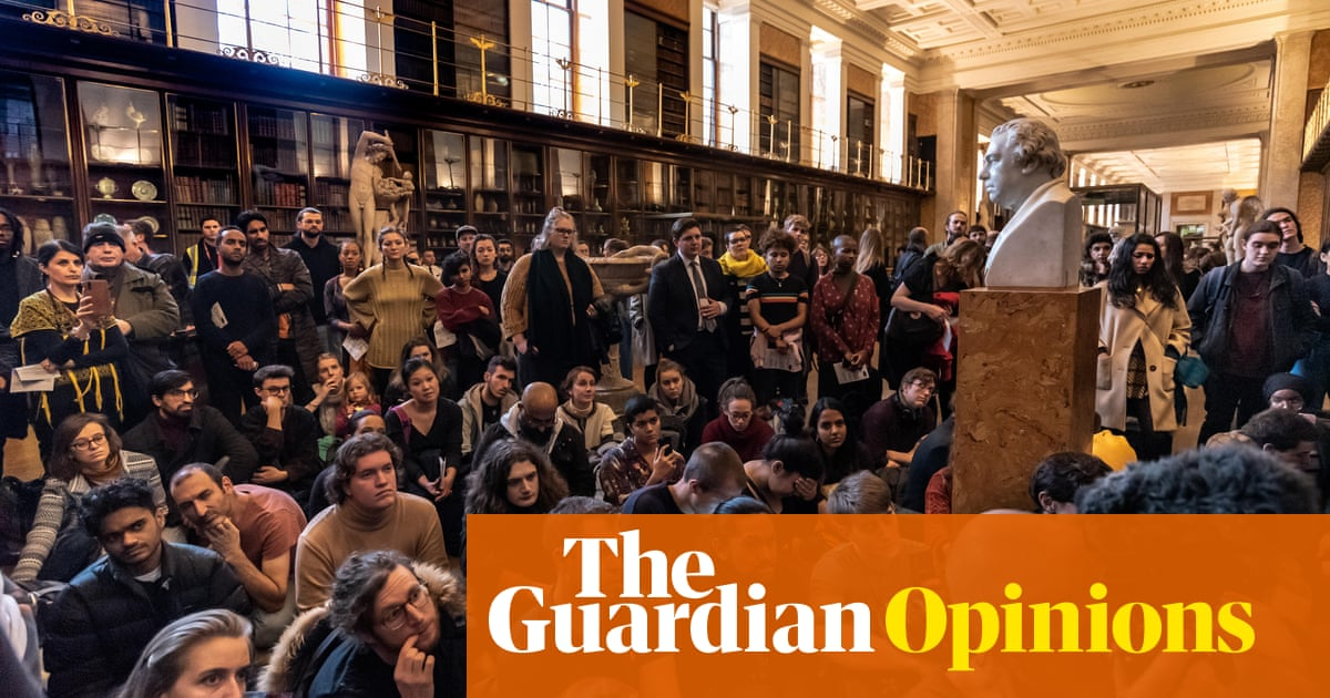 UK museums should be honest about being stuffed with stolen