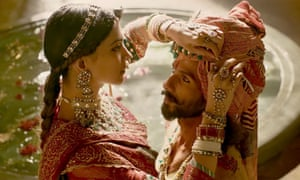 Loved-up royals … Padmaavat