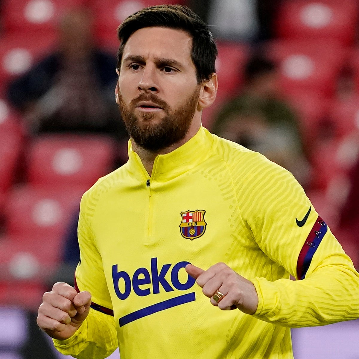 Pep Guardiola Keen For Lionel Messi To Finish Career At Barcelona Football The Guardian