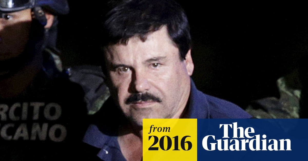 El Chapo entered US twice while on the run after prison