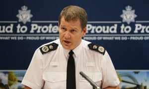 Steve Ashman, chief constable of Northumbria police