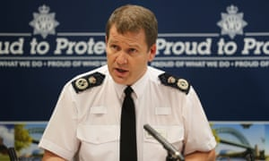 Northumbria's chief constable, Steve Ashman, at an Operation Shelter press conference