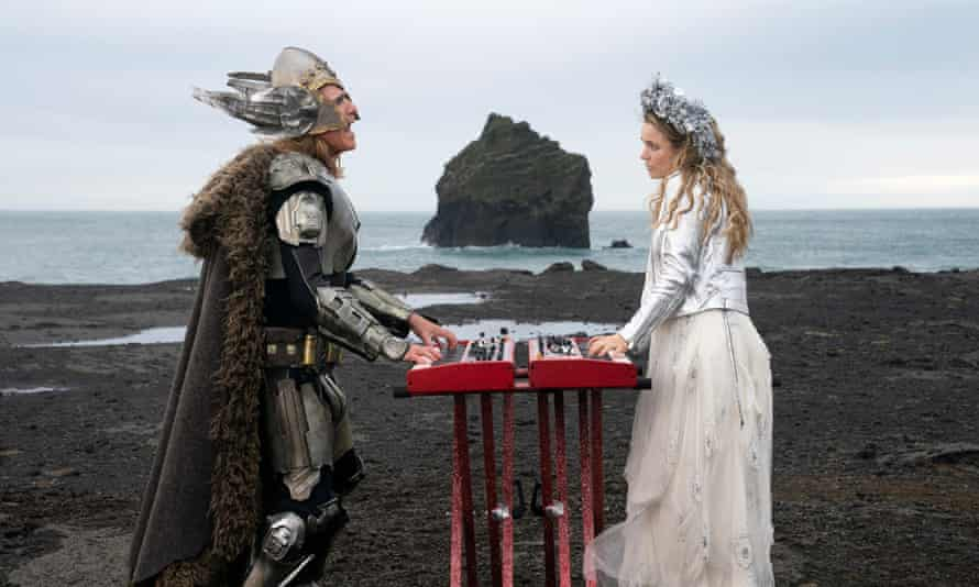Ice cool ... Will Ferrell and Rachel McAdams in Eurovision Song Contest: The Story of Fire Saga