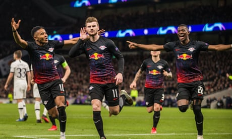 Spurs fall to Leipzig's Timo Werner but are grateful for Hugo Lloris heroics