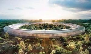 Apple Park, the company's new headquarters.