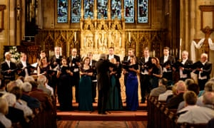 Magic number … classy choral group the Sixteen.