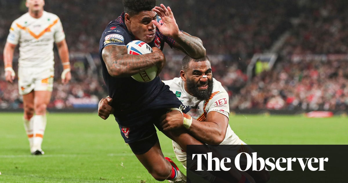 Kevin Naiqama signs off from St Helens with Grand Final winner over Catalans