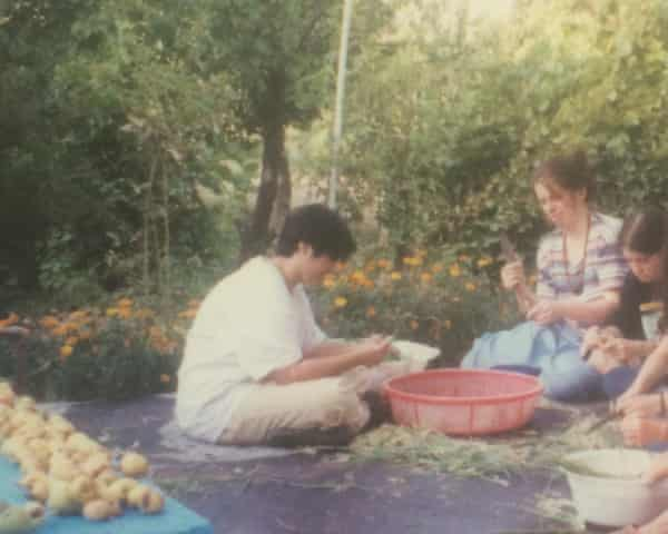 Arianne Shahvisi and her family during one of their summers in Iran.