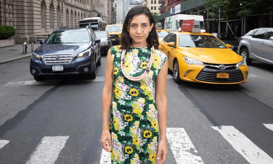 Ottessa Moshfegh in New York. 'I'm pretty fluent in irreverence and cynicism.'