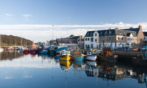 Stornoway, in the Outer Hebrides or Western Isles, which have had no recorded coronavirus deaths