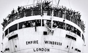 The Empire Windrush arrives at Tilbury, 22 June 1948