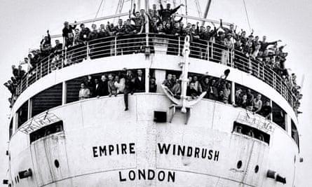 The Empire Windrush arrives at Tilbury, 22 June 1948