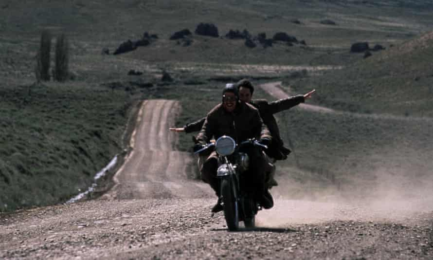 Out Clarksonning Clarkson ... an image from Walter Salles's 2004 film version of The Motorcycle Diaries.