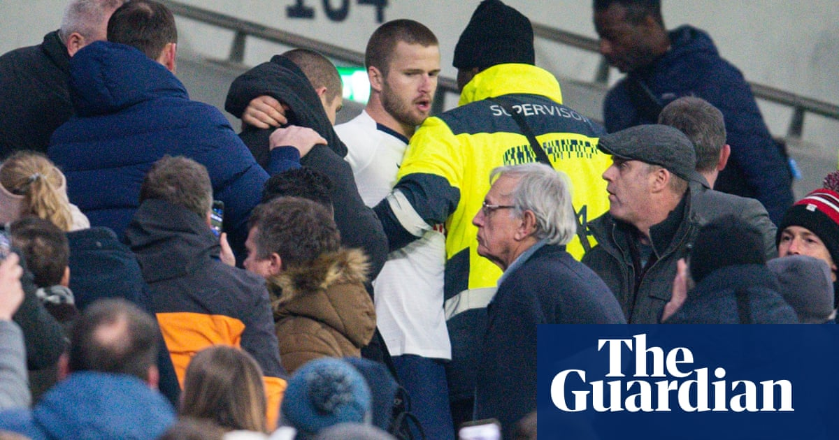 Eric Dier hit with four-game ban for climbing into Tottenham stands