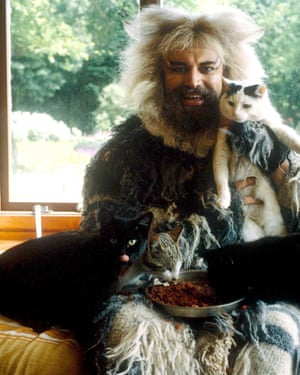 Blessed in 1981, when he was in the stage musical Cats.