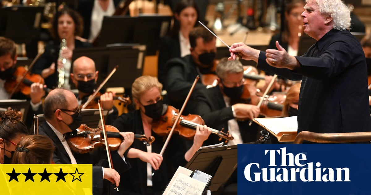 LSO/Rattle review – a Brucknerian labour of love