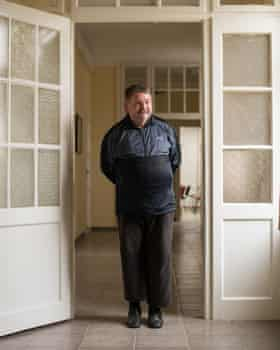 Darko Kovacic, 53, has been living at the centre in Osijek since 2011