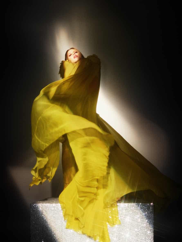 Dress by Jean Paul Gaultier.