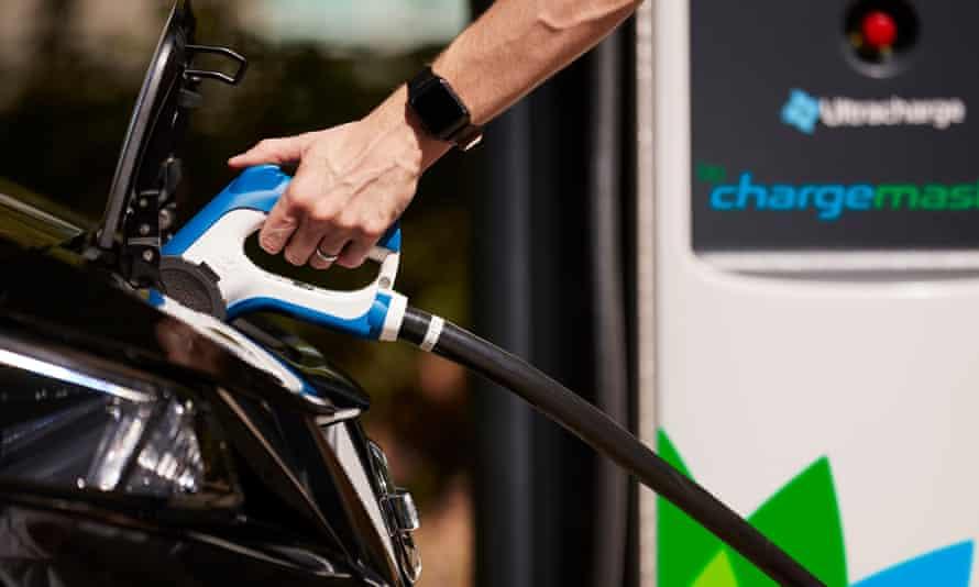 BP Chargemaster - charging station