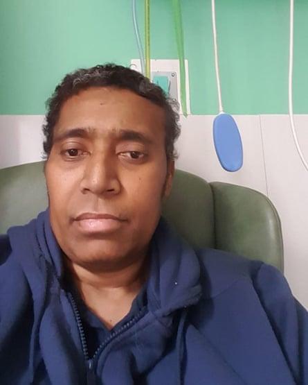 Taitusi Ratucaucau in hospital.