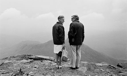 'Is this all there is?' … handbags at the top of Snowdon, 1975.