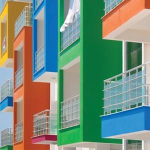 A social housing in Kusadasi district, Aydin by Turkish architect photographer Yener Torun.