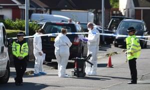 Forensics team in Telford